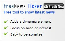 Free News Ticker Module