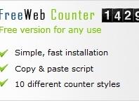 Free Web Counter  Free web counter Author : www.webtools4free.com Download : CLICK HERE Sort Description : Script untuk menghitung jumlah pengunjung dalam web kita. Type : Web Tools Status : FREE  More Info Seberapa sering Anda menanyakan berapa banyak pengunjung datang ke situs Anda? Sekarang Anda akan tahu pasti, dengan men-download perangkat lunak […]